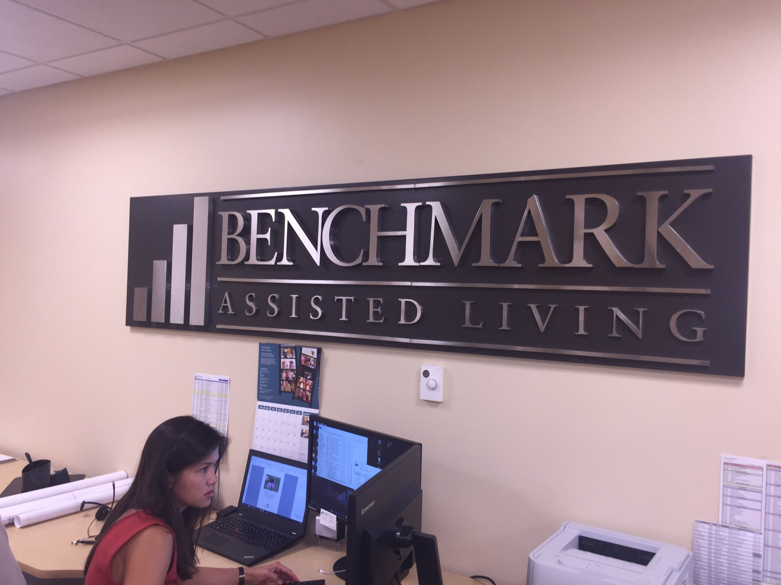 The company's original name changed in 2013 to Benchmark Senior Living, reflecting the continuum of care offered across its 55 communities in eight states.