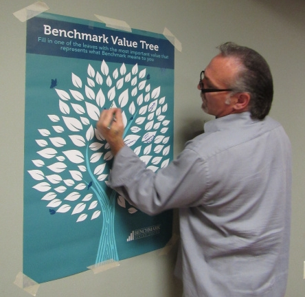 Earlier this year, associates in all our communities across seven Northeast states shared the most important value that represents what Benchmark means to them. Among the values: Respect.