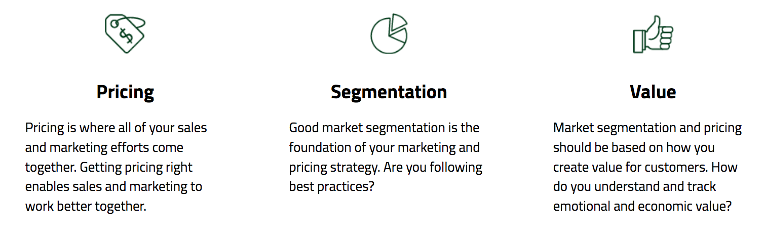 Pricing Segmentation and Value Communication Self Assessment
