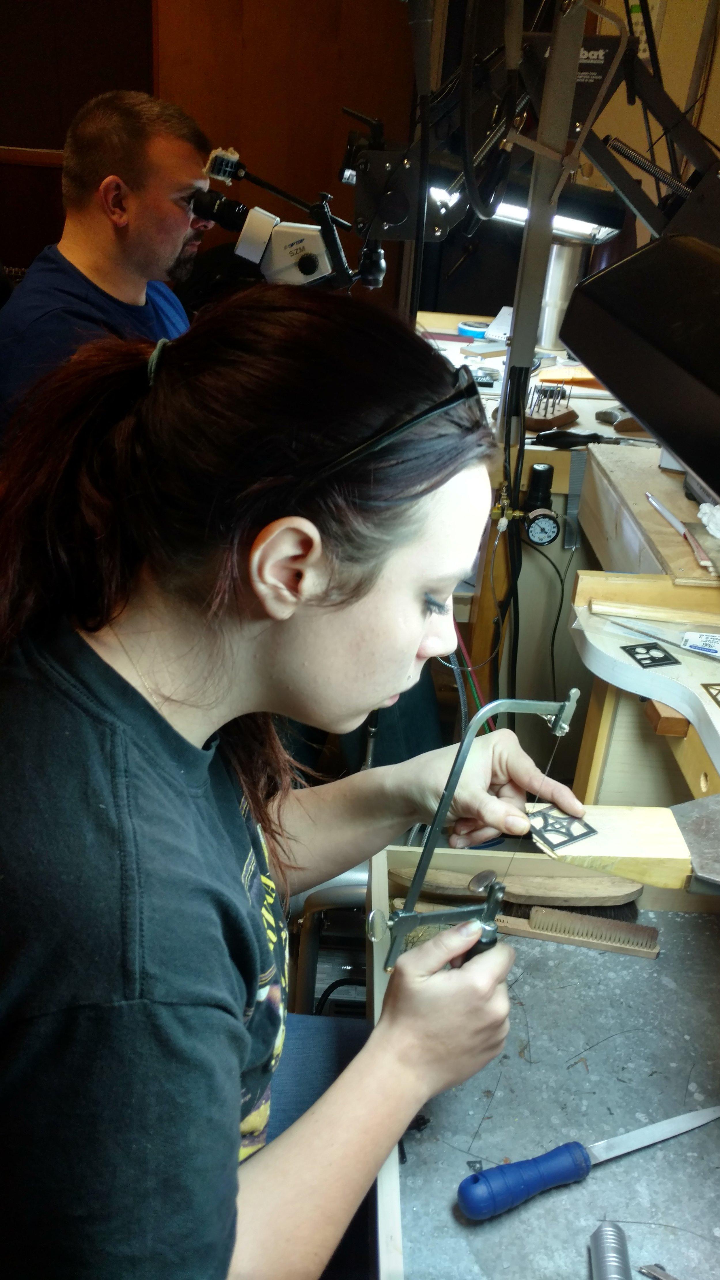 Isaac Kornhauser On Site Jewelry Training