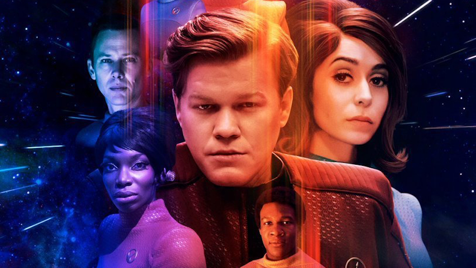 ::Puts on headset:: Welcome to the USS Callister... oh, wait, you're pizza's here!