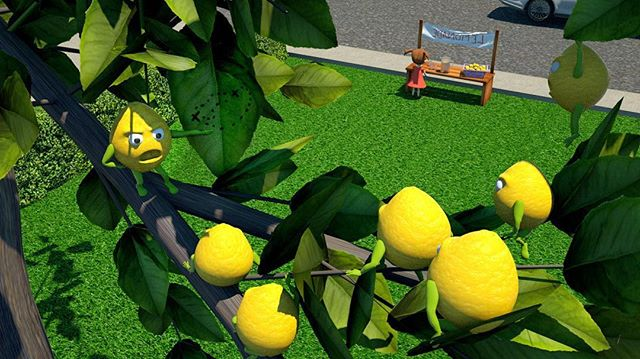 """The Lemon Heist"" . . . . . #c4d #zbrush #octane #3dmodeling #lemons #cartoons #characterdesign #humor #lemonadestand #storyboarding @3d.modeling.showcase"