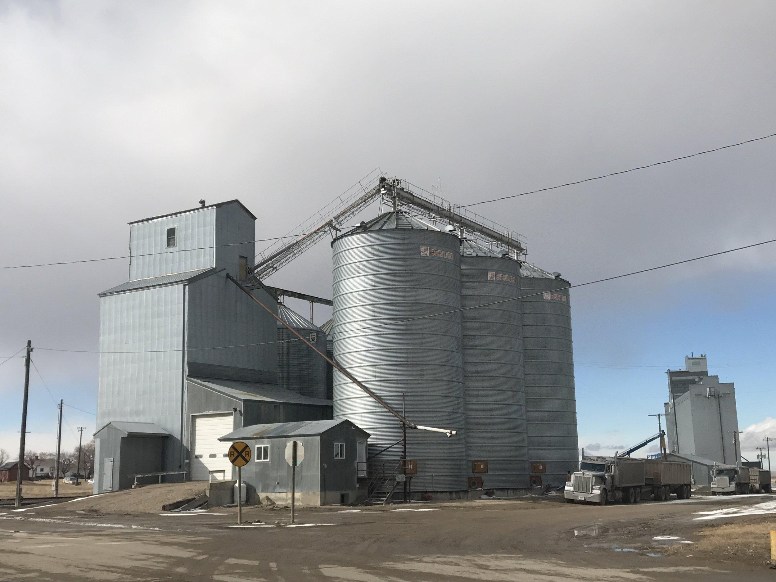 Dutton Grain Bins