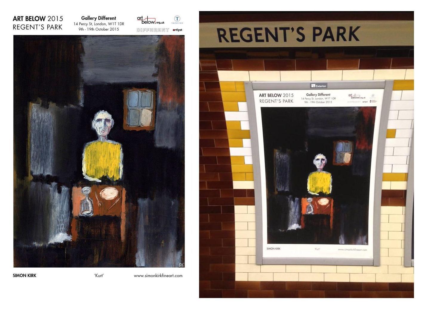 Art Below Regent's Park 2015