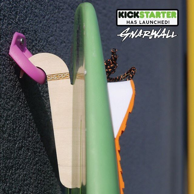 Our KICKSTARTER campaign launched today!  Check out the GNARWALL!  @sheppsolutions