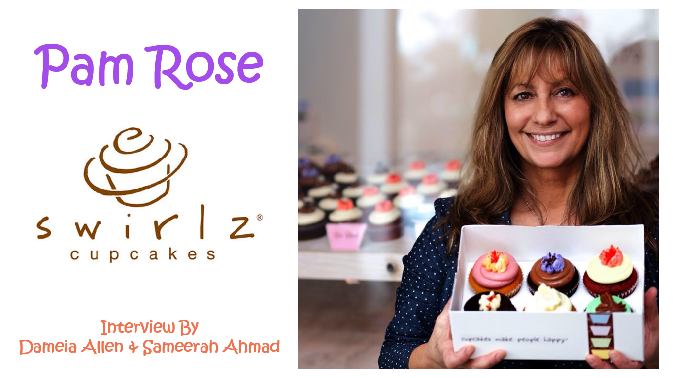 Leadership 2.0 Final Group Project – Pam Rose of Swirlz Cupcakes Interview:  http://bit.ly/SWIRLZ