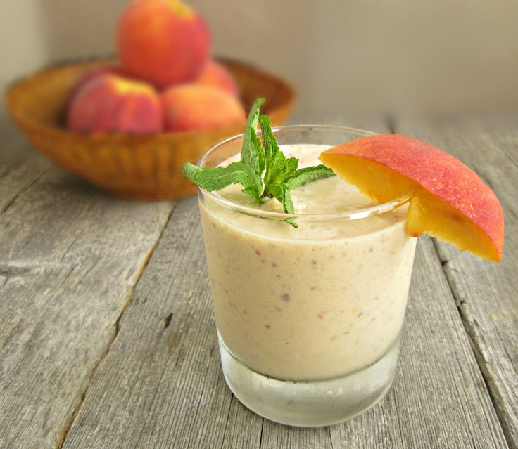 Creamy Peach Delight -