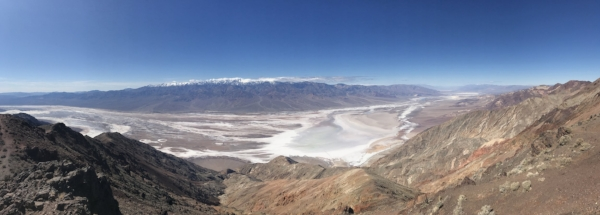 Astounding views stretching on as far as the eye can see
