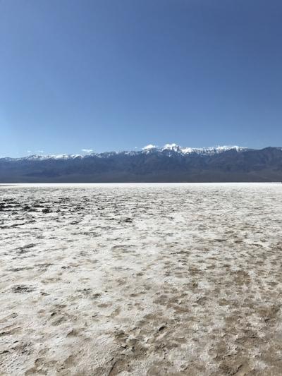 The expansive salt flats