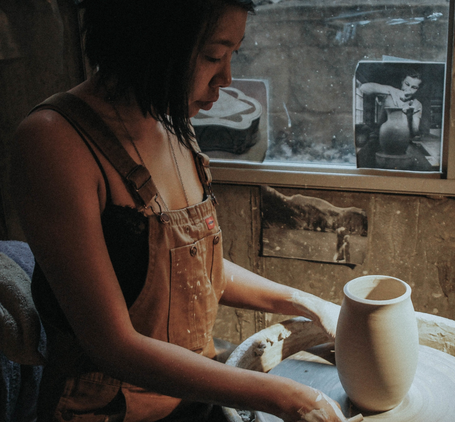 Miche Wang - Miche Wang started getting muddy in 2010—and hasn't stopped working with clay since. When she's not in the studio, Miche enjoys skiing, hiking, whitewater rafting, and is occasionally caught foraging wild edibles. She recently relocated to Whitefish, MT in pursuit of colder winters and a job opportunity where she can excel in the world of production pottery.Website
