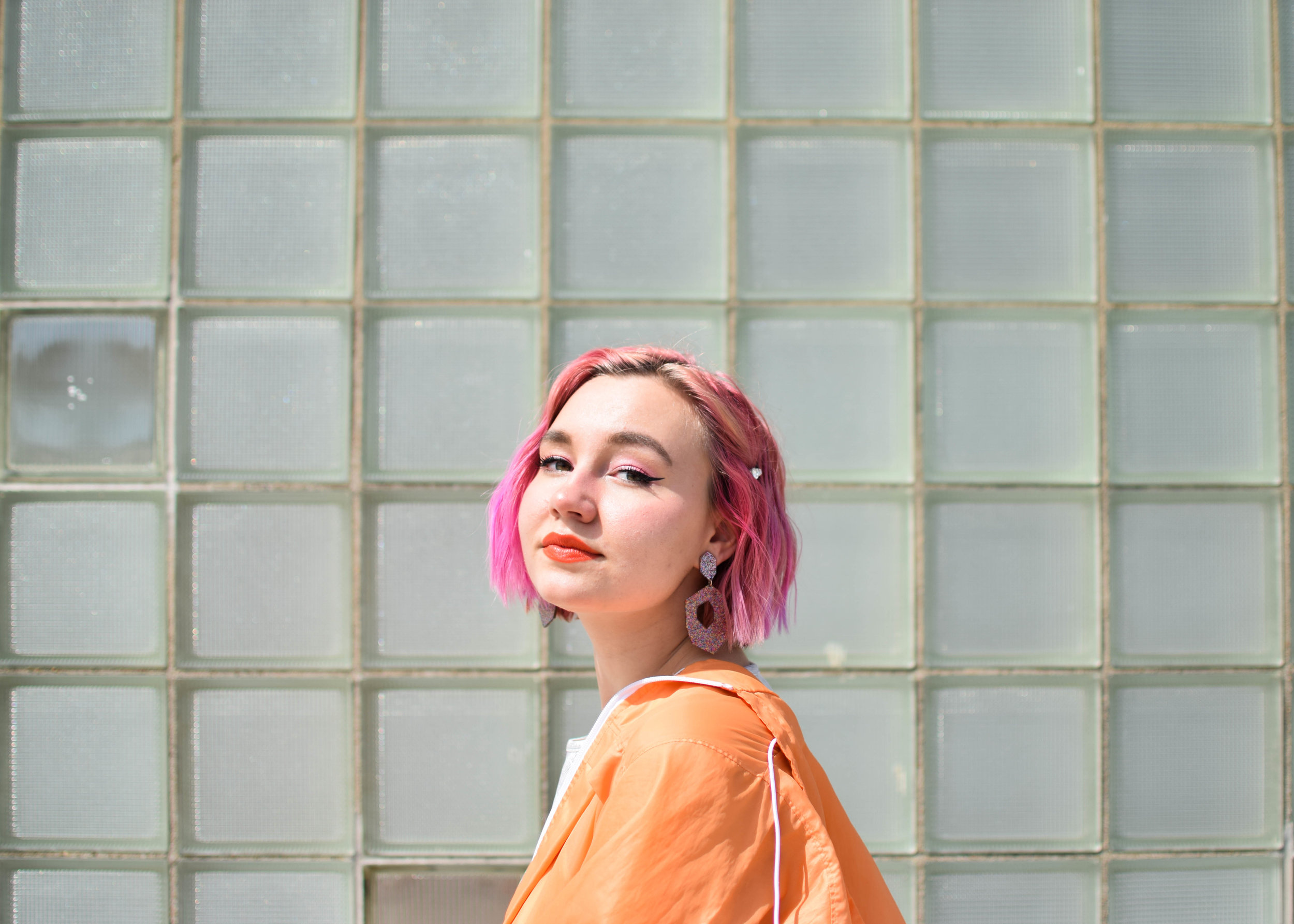 Sarah Robbins - Sarah Robbins is an ethical fashion blogger, a student of English, and a general advocate for caring too much. She spends her free time dying her hair various shades of pink.Website
