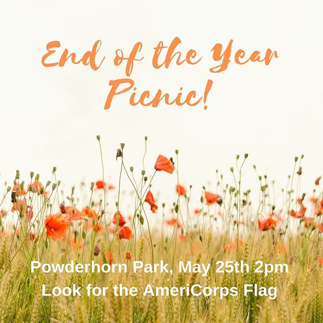 We are hosting an end-of-year picnic! Join us for games, fun, and food. Bring your AmeriCorps cohort, your friends and family - all are welcome! This will be a bring your own food event! We will also be taking optional food shelf donations as part of the event. #ICCofMN #IServeMN