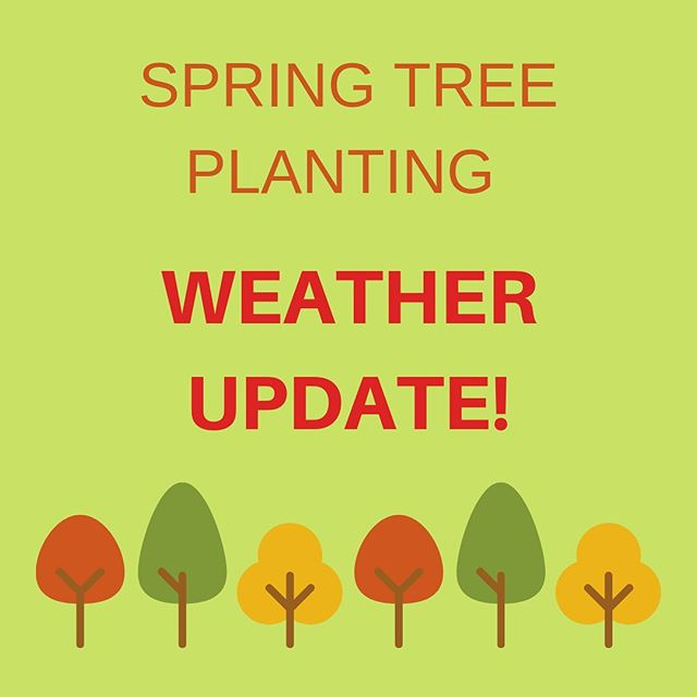 WEATHER UPDATE! Due to forecasted stormy weather this weekend, Hennepin County Environment and Energy, the organization hosting Spring Tree Planting, will be making a decision about Spring Tree Planting tomorrow. Stay tuned for the latest update!