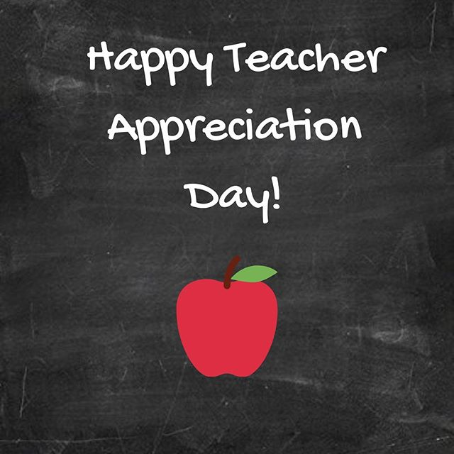 Teacher Appreciation Day is just one day in a whole week of celebrating and recognizing the work of teachers across the country. Thanks to all the teachers, future and current, that serve and support the work of AmeriCorps members! #ICCofMN #IServeMN #TeacherAppreciationDay