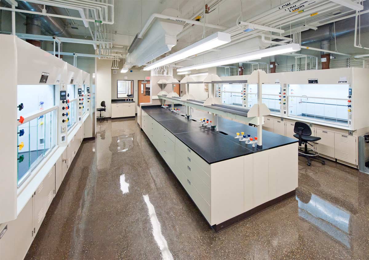 Chemistry West Lab Renovations