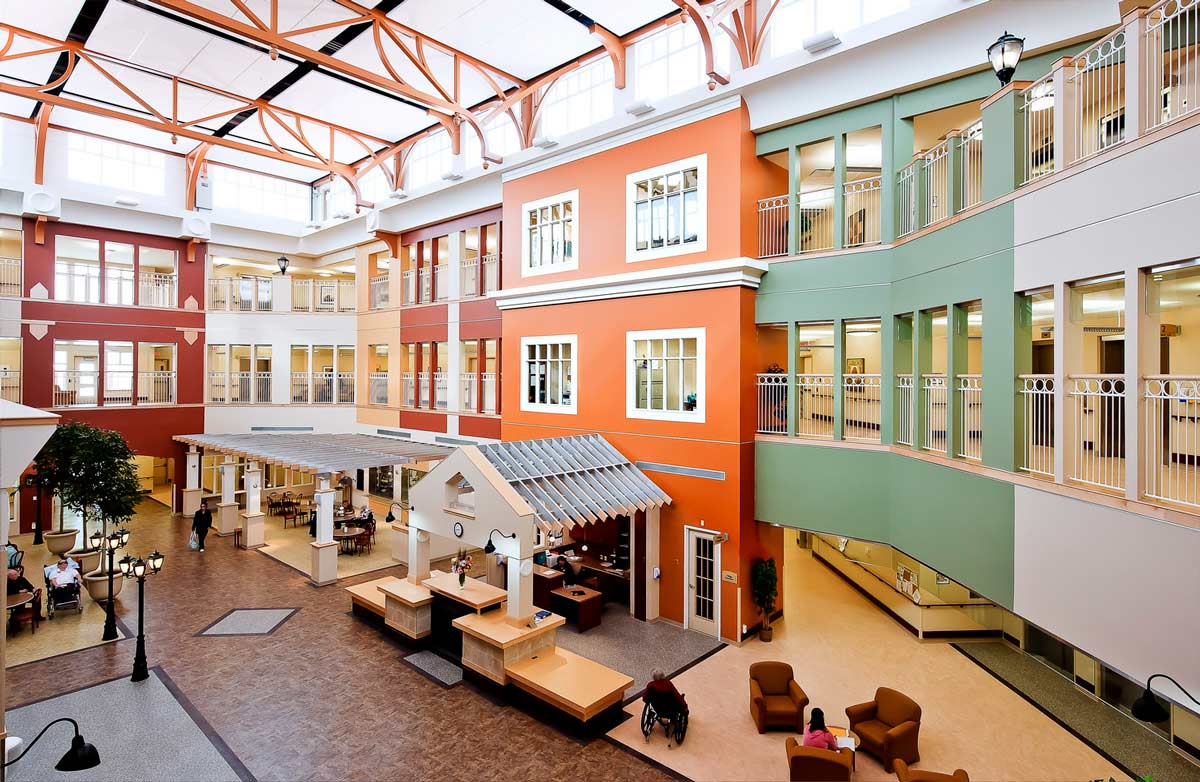 Michener Continuing Care Centre, Red Deer