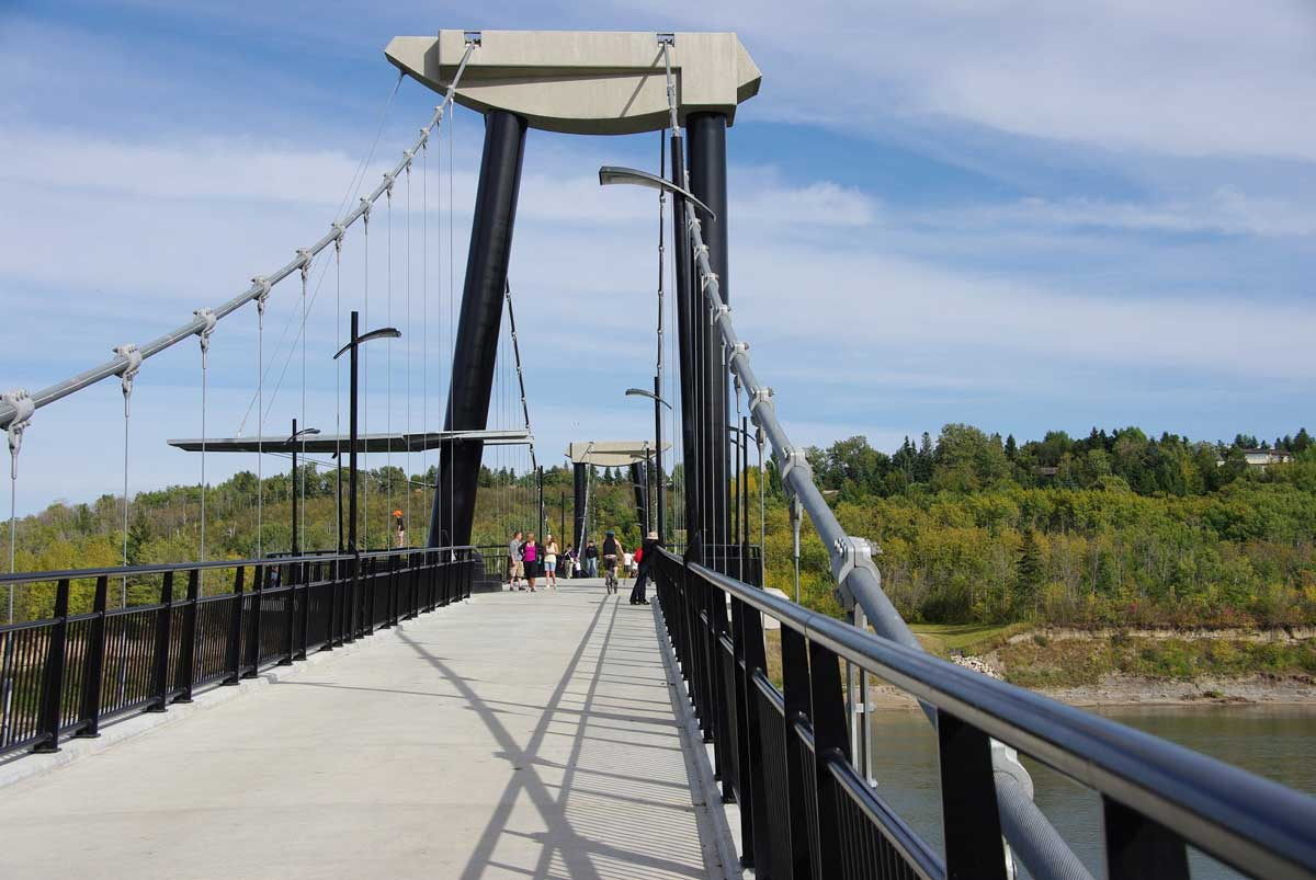 Fort Edmonton Footbridge