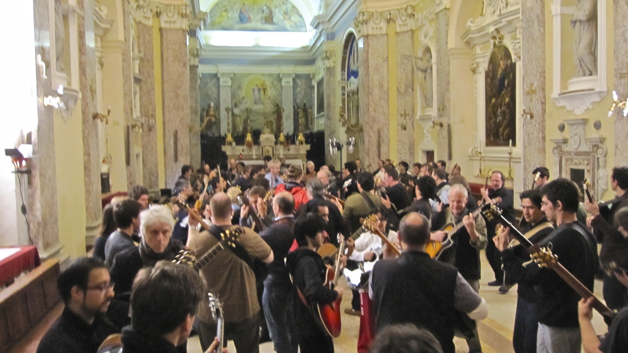 The Orchestra of Crafty Guitarists  Sassoferrato Italy, 2010.