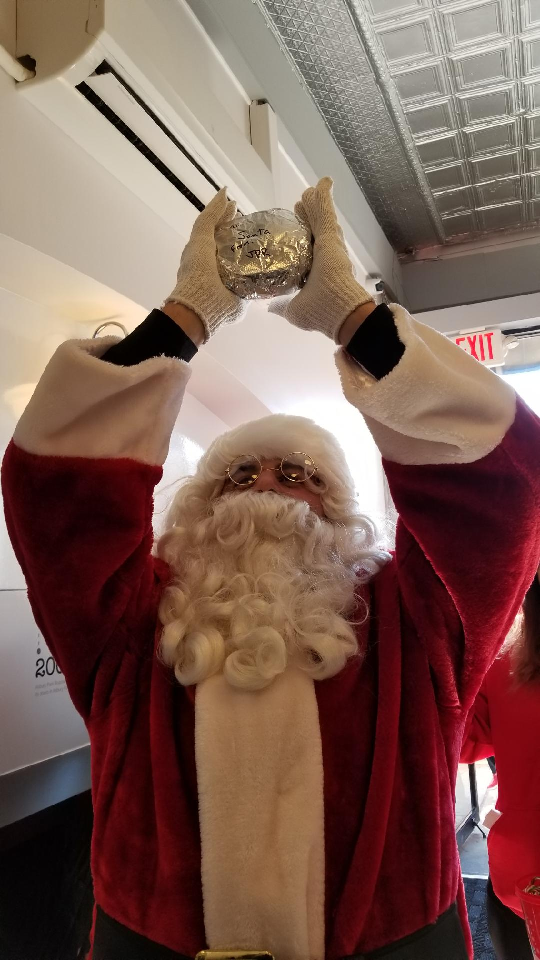 HO! HO! HO! - Thanks for the visit Santa! #NavesinkHook&Ladder