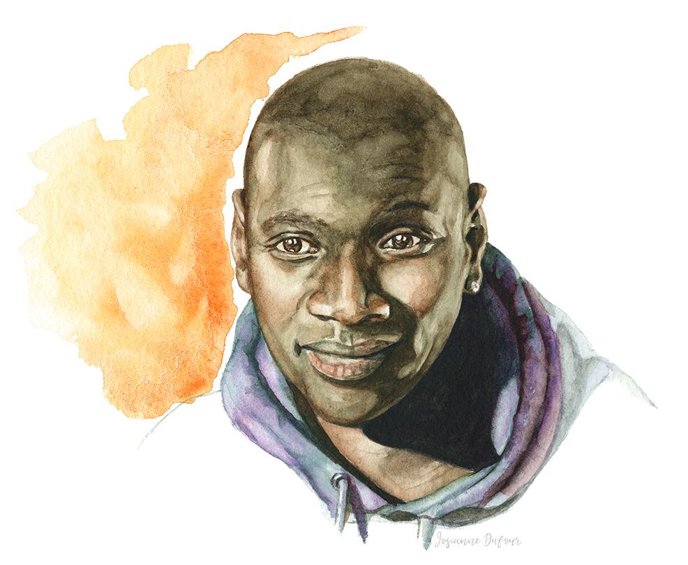 Omar Sy Portrait