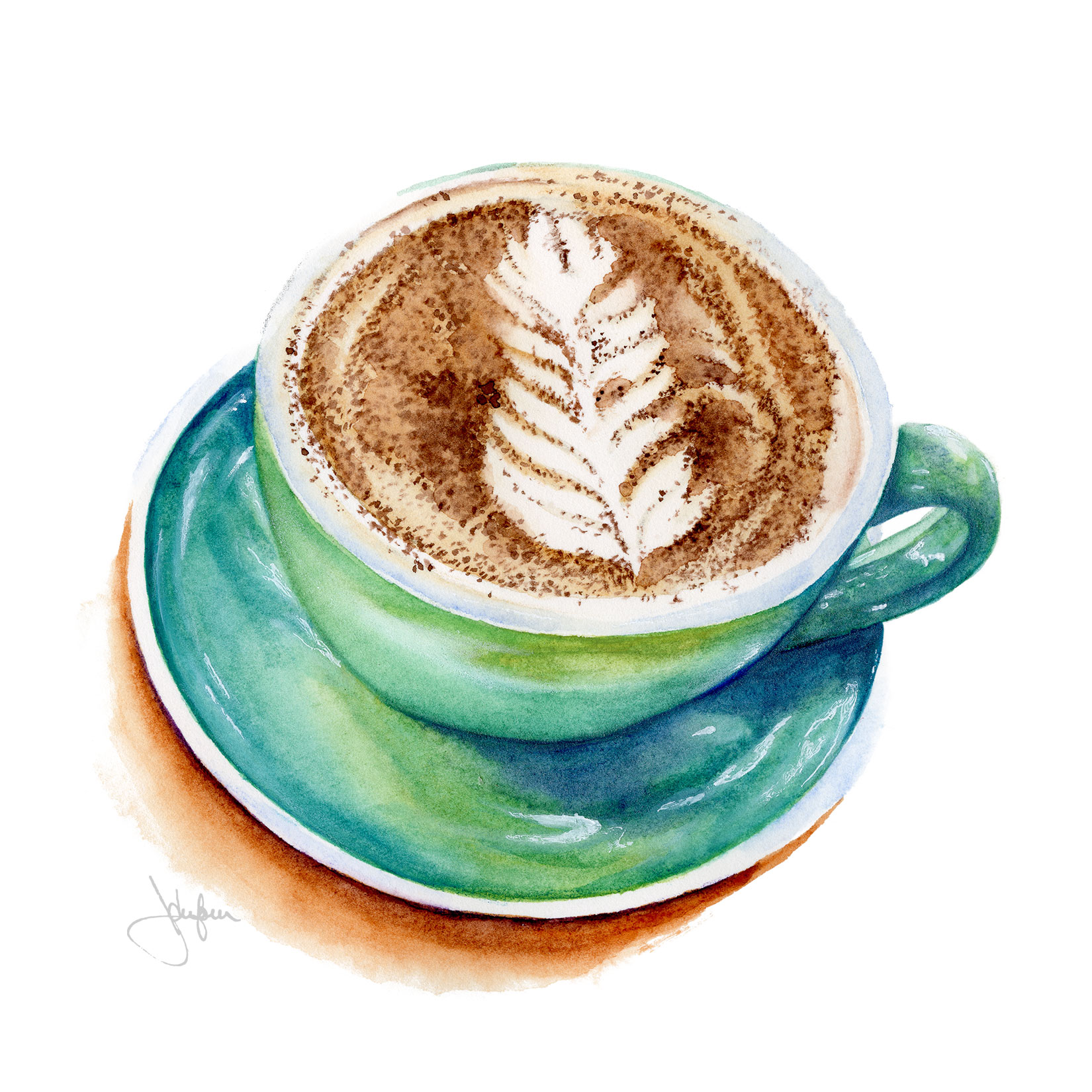 Cup of chai latte