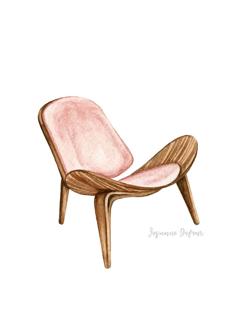Danish design chair 1