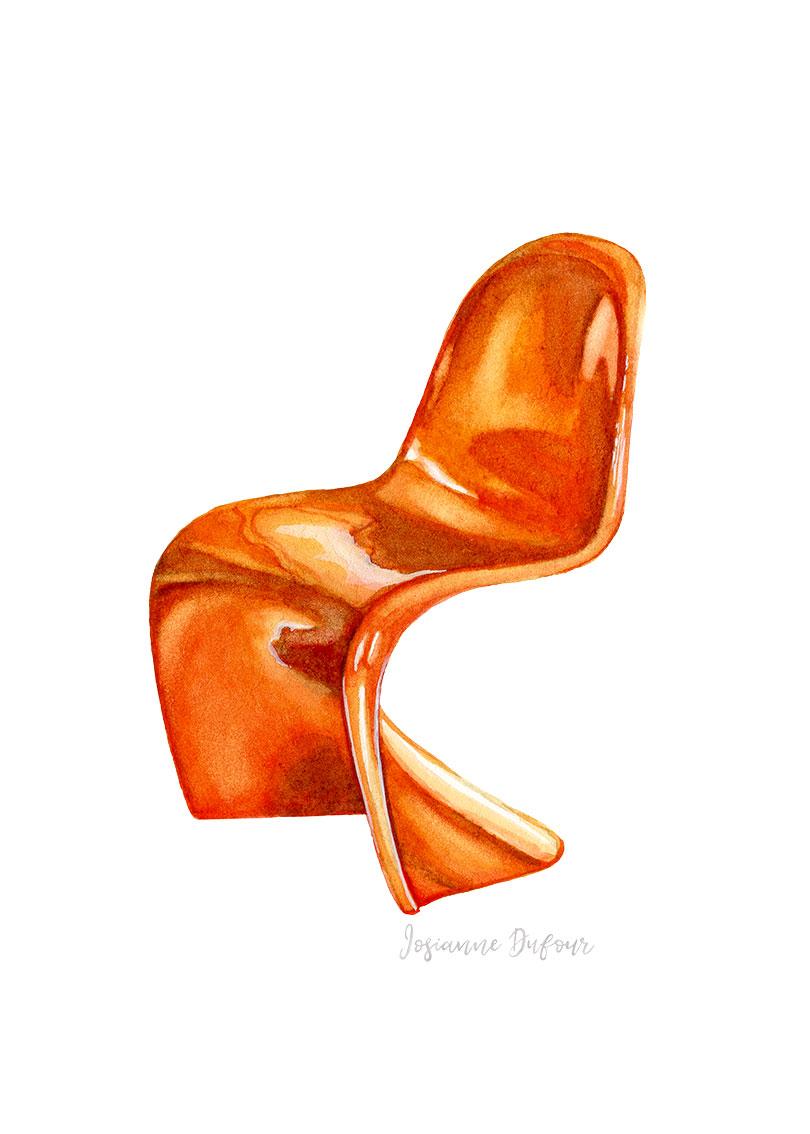 Danish design chair 3