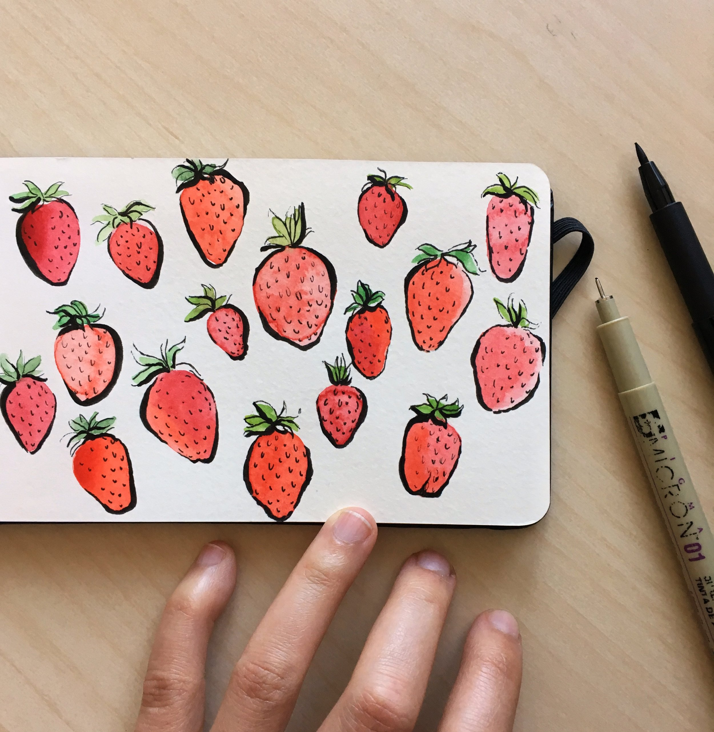 JosianneDufour_strawberries_watercolor_sketch.jpg