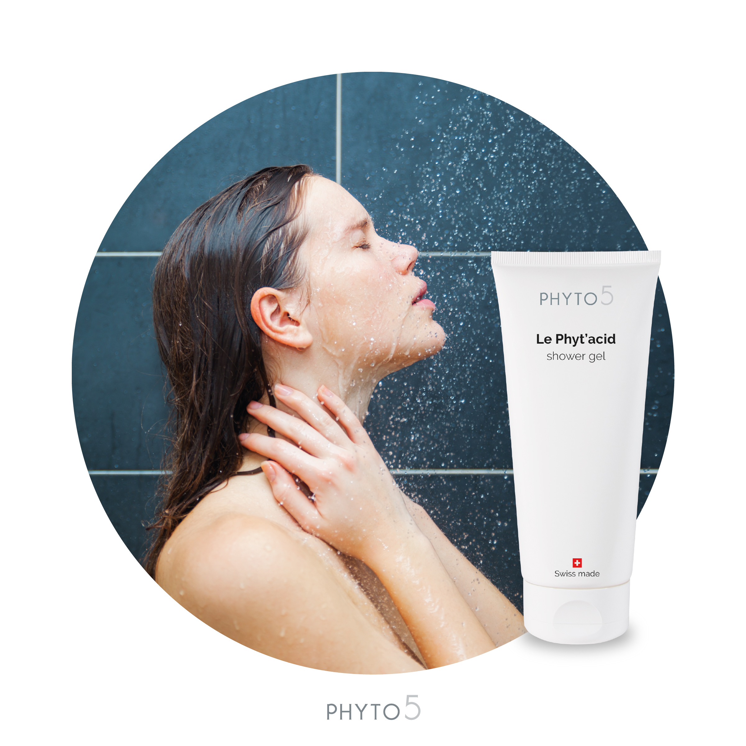 Phyt'Acid face and body cleansing gel
