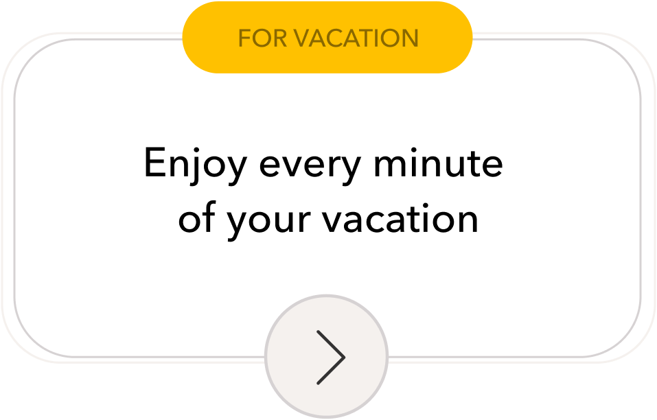 Timeshifter jet lag app for Vacation: Enjoy every minute of your vacation