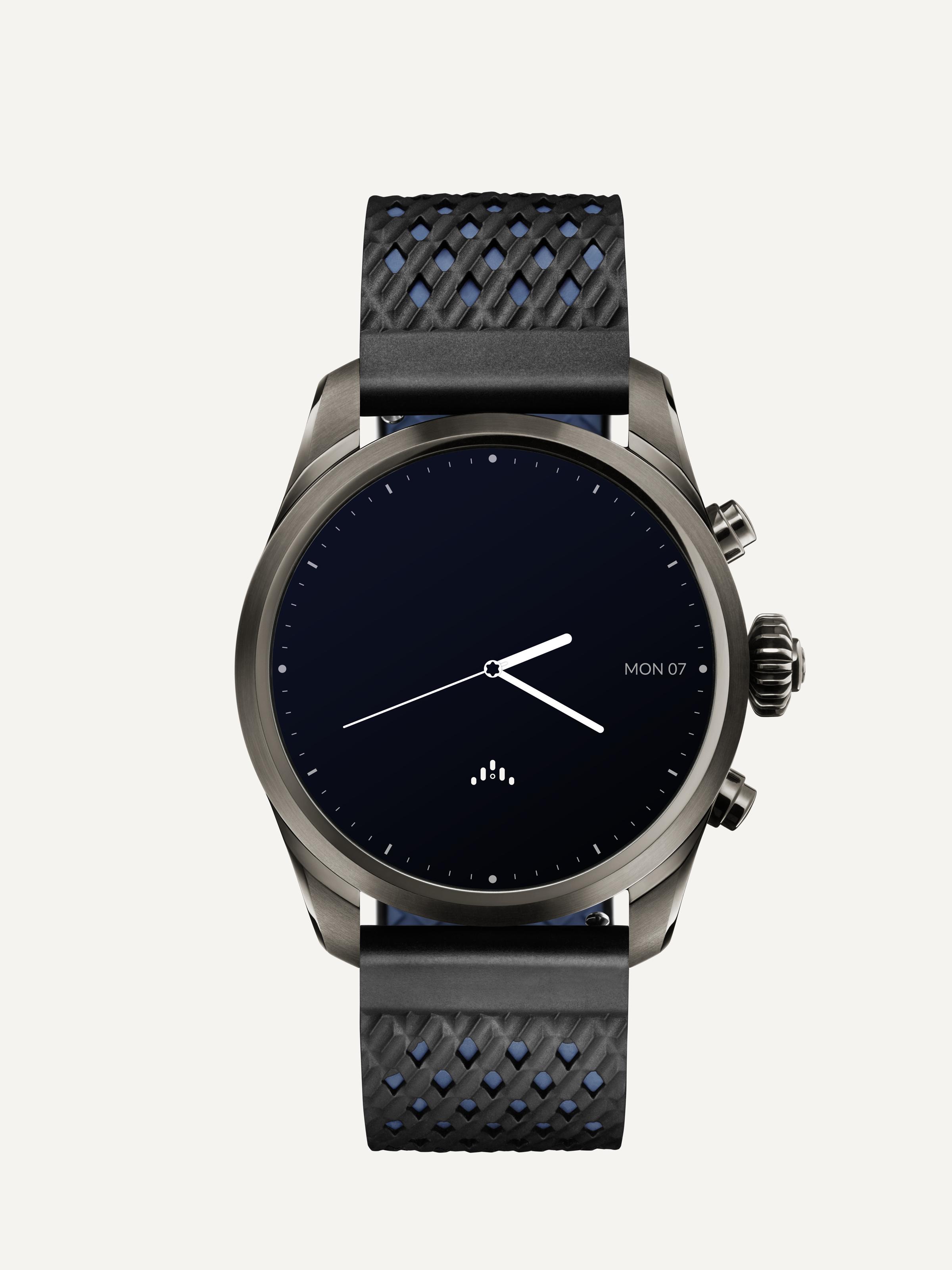Montblanc_Smartwatch_titanium_front_bluestraps.png