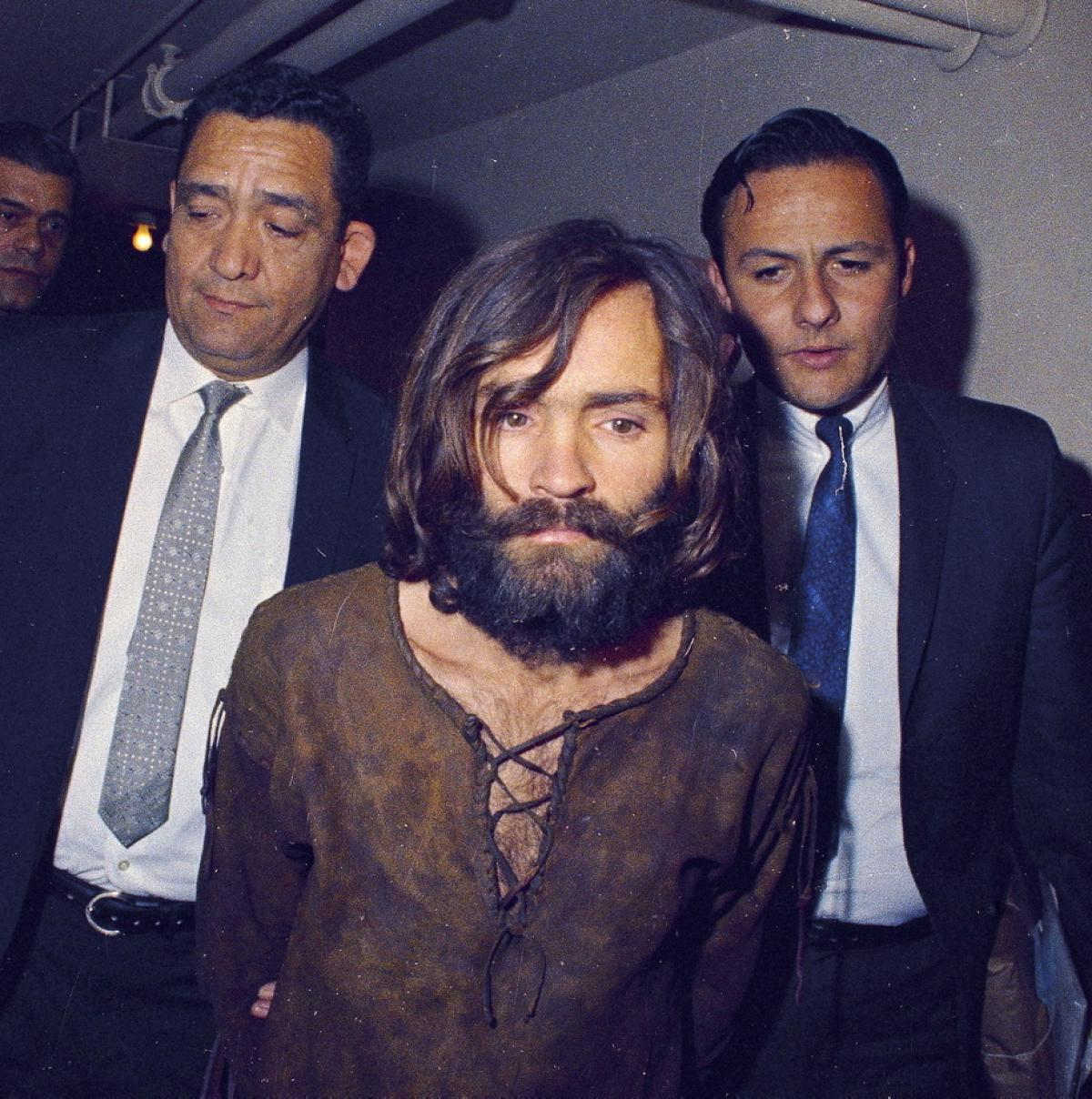 Charles Manson on trial