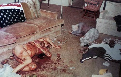 Brutal crime scene of Sharon Tate and Frykowski's
