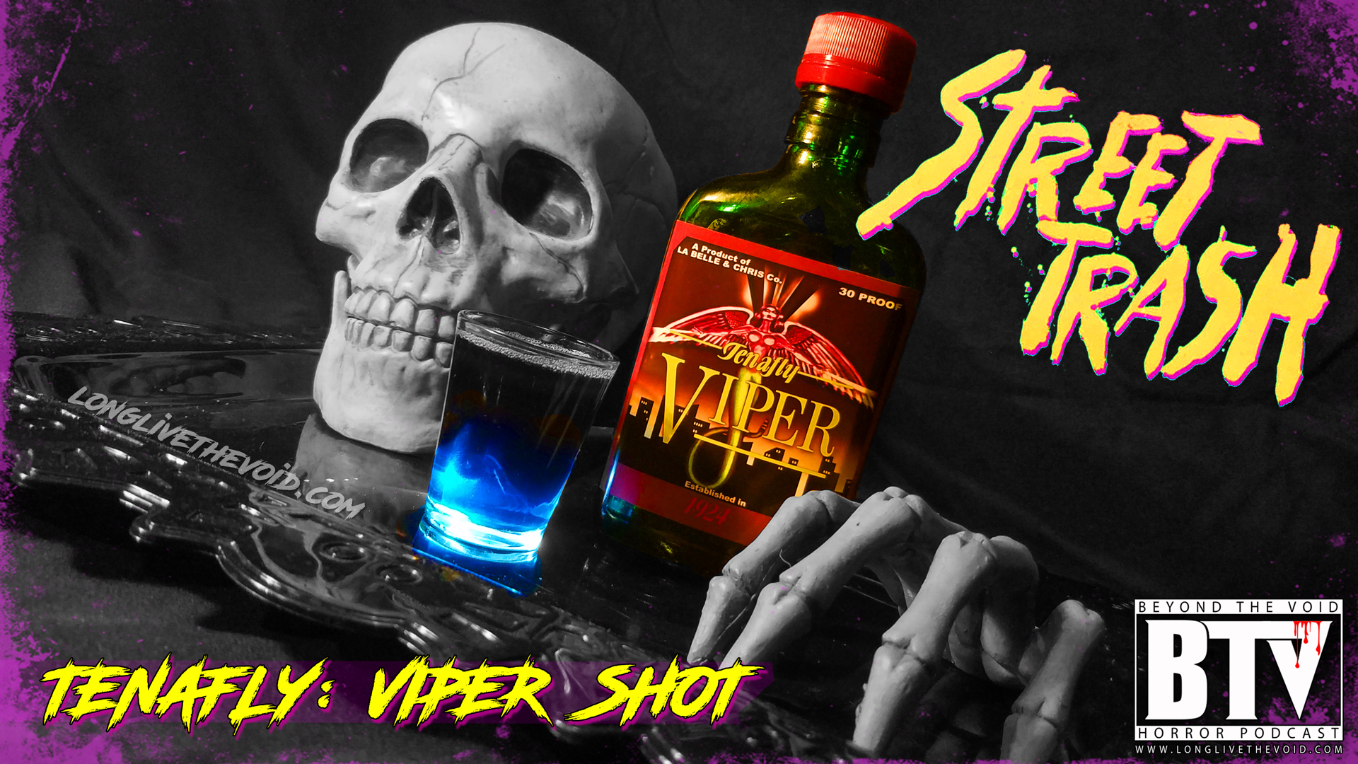 """Try our """"Tenafly Viper"""" #Horrorshot it will MELT YOU AWAY!"""
