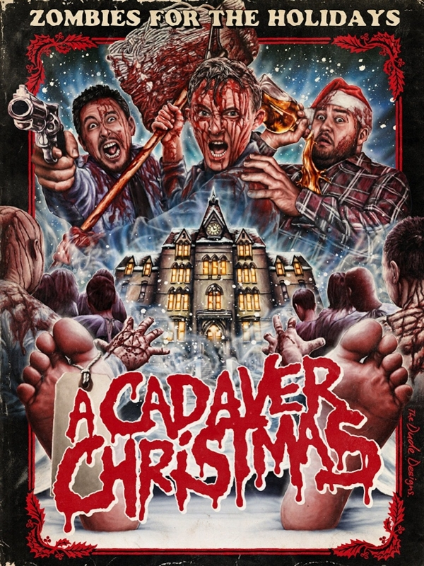 """Check out """"A Cadaver Christmas"""" on Amazon Prime Video! NOW! Free!"""