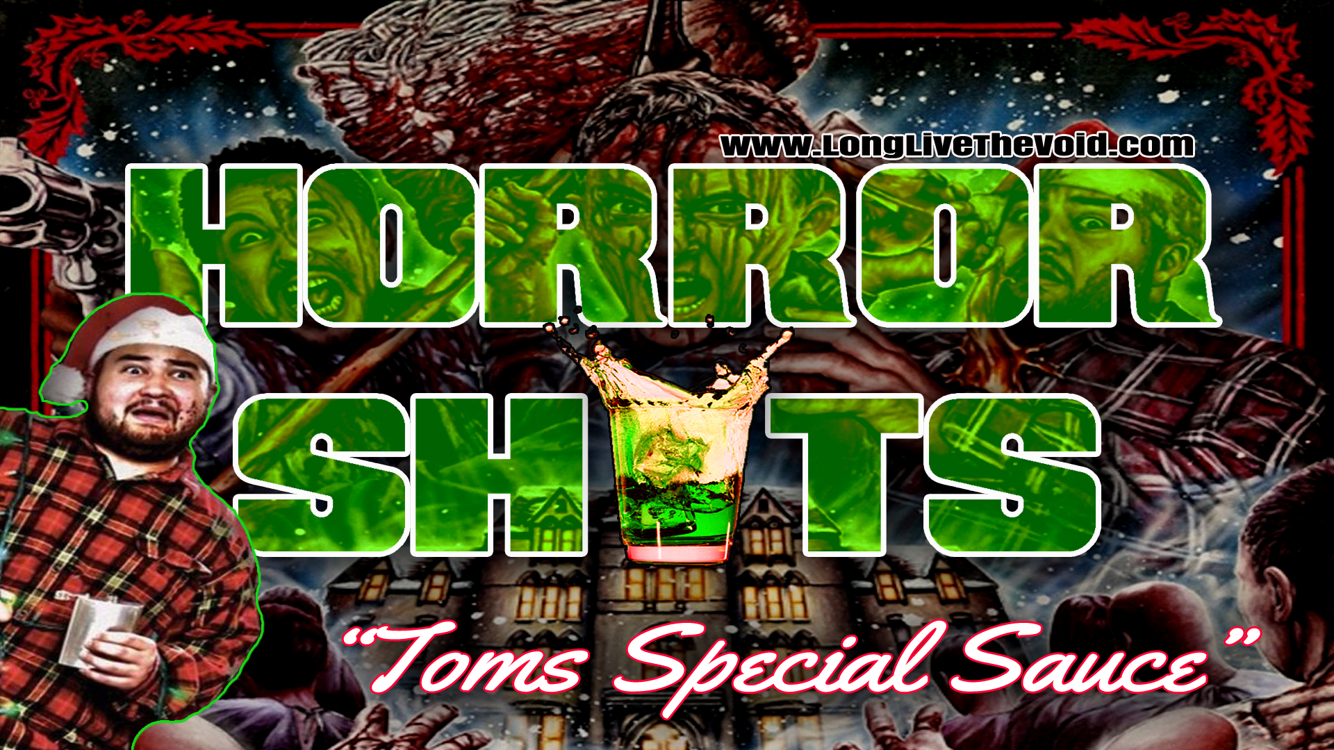 """Try our #horrorshot we made dedicated to """"A Cadaver Christmas"""""""