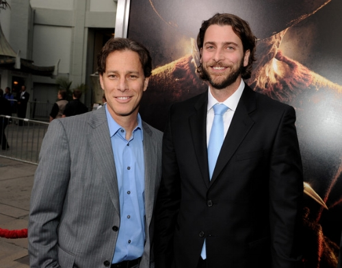 Producers Brad Fuller (L) and Andrew Form
