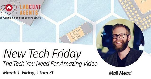 Had a really fun time on the @labcoatagents webinar today talking about video tech! Check them out 👆
