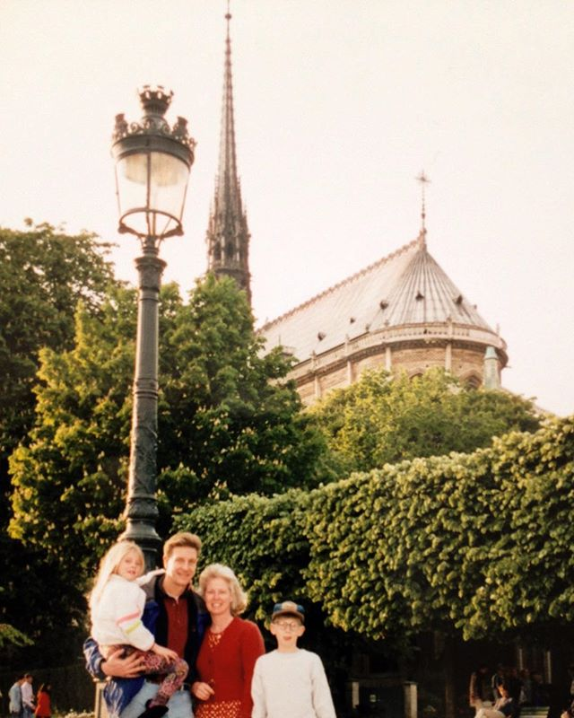 My family lived in northern France for a few years in the 90s. During one of our visits to Paris we stayed right across from the Notre Dame. I have such great memories hanging out there as a kid. I can't believe so much of it is gone now.