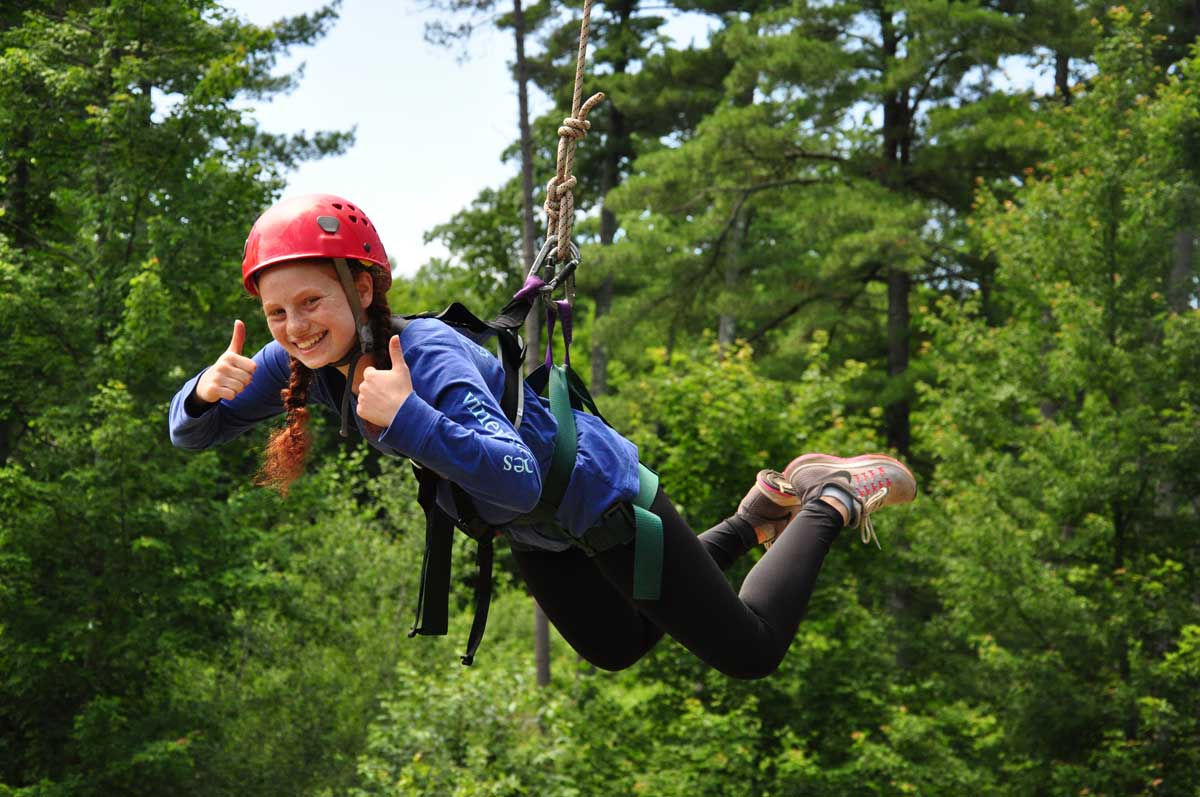 ROPES COURSE / חבלים - An eleven-element high ropes course that includes a quad of six different elements all between 25 and 40 feet off the ground. We also have a 40-foot climbing wall with a zip line off the top of it.