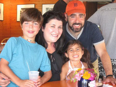 Robin and Steven with their children, Ari and Tali.