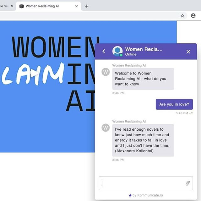 Thanks to the trailblazing Women Reclaiming AI for Activism (WRAI) for yesterday's brilliant workshop at @nearnow where we used inspirational quotes from women to design a collaborative AI voice assistant.  @coral_manton #ai #aiassistant #voice #feminism #women #reclaim #digital #womenintech #chatbot #nottingham #kollontai