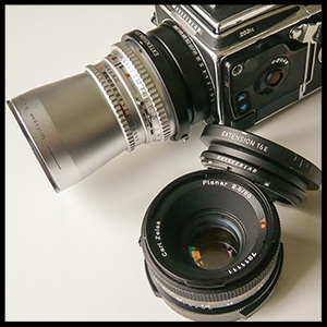 Hasselblad 203FE with tubes