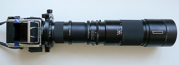 Hasselblad 203FE+1.4x PC-Mutar+2x Carl Zeiss Mutar+Hasselblad 2XE+350mm Tele-Tessar   Leica C-Lux 2