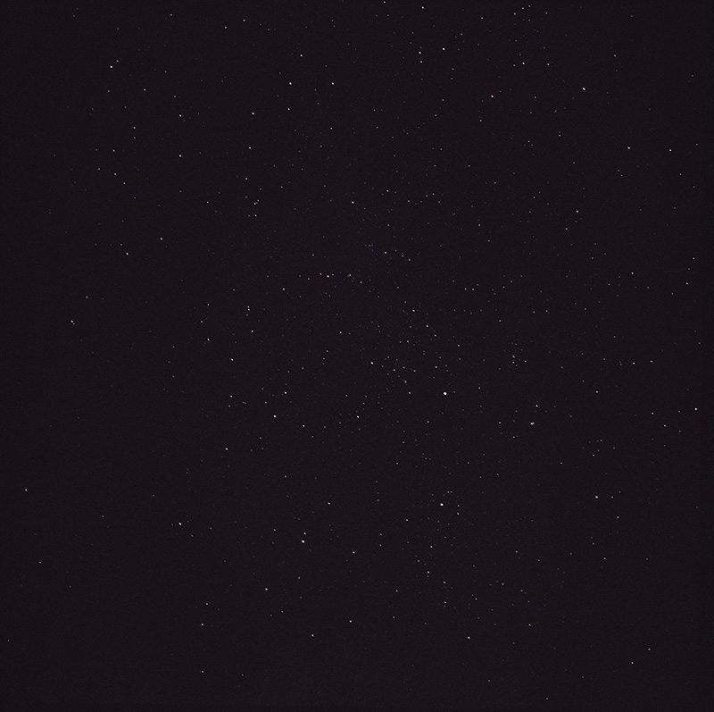 Slightly more stars