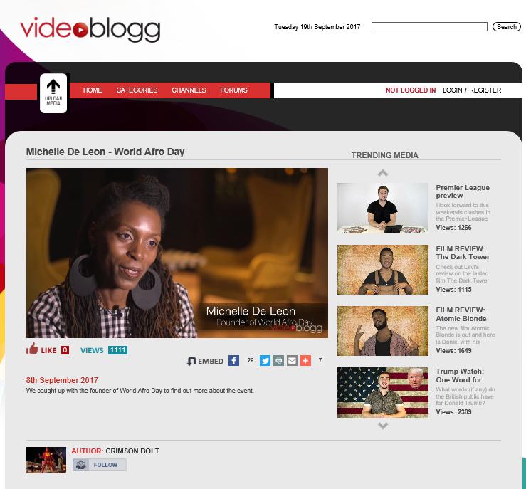 Video Blogg -