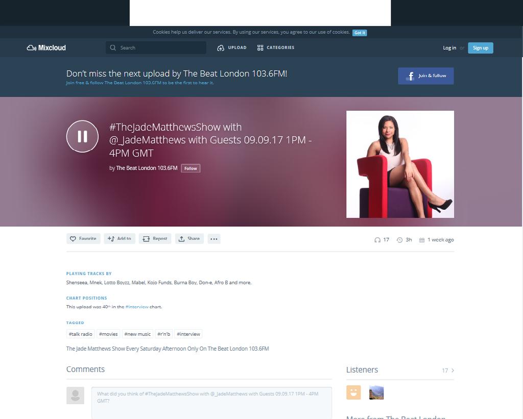 The Beat ondon 103.6FM -