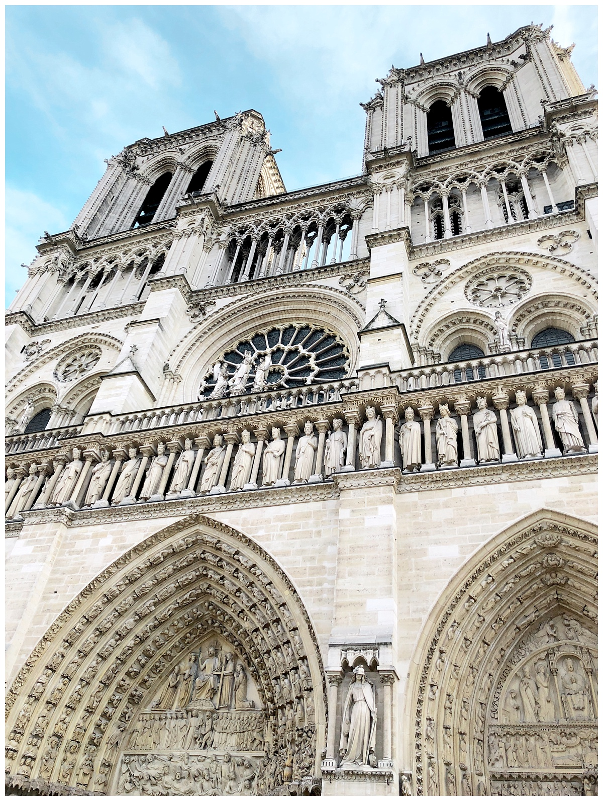 Notre-Dame Cathedral. Giving me all The Hunchback of Notre Dame feels.