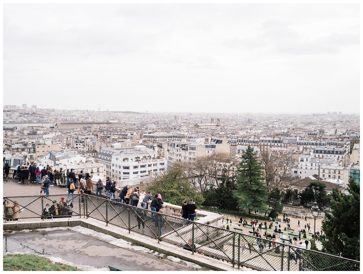 Monmartre- This neighborhood is worth seeing. It is uphill and you get a great view of the city.