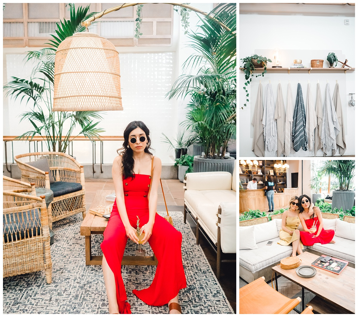 My sister! Who takes all my photos and I'm so glad we both enjoy dressing up and going to cute places like this! So lucky to have a photographer sister in my life ;p Check out her website,  Click here and her Instagram is: @ushnakhanphotography